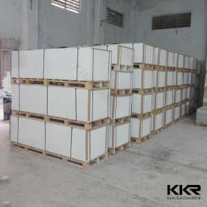 Building Material 300 Colors Solid Surface Sheet for Shower Wall Panel (171017) pictures & photos