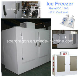 Bagged Ice Freezer Ice Storage Bin with Logo Artwork pictures & photos