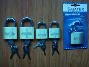 Brass Padlock, Iron Padlock Tri Circuiit Solid Padlock (261-267) pictures & photos