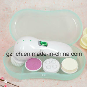 Electrical Facial Cleansing Brush Face Massager Kit pictures & photos