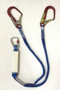 Energy Absorber Lanyard Safety Rope, 13mm*1.5m pictures & photos