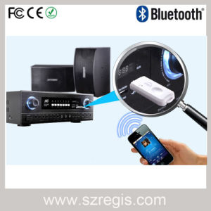 Bluetooth 2.1 Adapter Audio Music Receiver with USB Sound Card pictures & photos