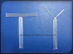 Polypropylene Crude Fiber (Steel-Wire-Like Fibre) Used in Cement pictures & photos