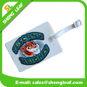 Cartoon PVC Rubber Luggage Tag for Travel Souvenir (SL-LT001) pictures & photos