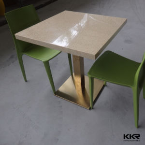 Artificial Stone Acrylic Solid Surface Dining Table pictures & photos