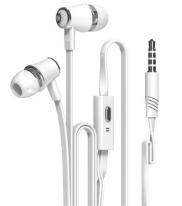 HiFi Noodle Line Bass Phone Line-Controlled MP3 Noise Reduction in-Ear Earphones pictures & photos