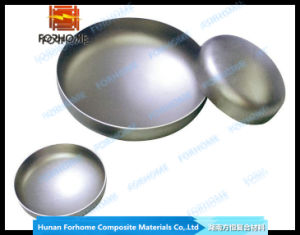 Stainless Steel Clad Steel Bimetallic Explosion Bonded Ellipsoidal Head/Tube Cap pictures & photos