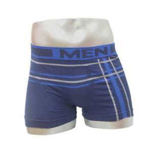 New Model Nylon Seamless Men′s Boxer Short