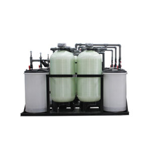 Dual Tank Ionic Exchange Industrial Water Softener pictures & photos