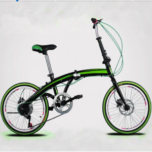 "20"" Aluminum Alloy Folding Bicycle/Bike pictures & photos"
