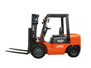 3ton Diesel Auto Forklift Truck H Series with Xinchang C490engine pictures & photos