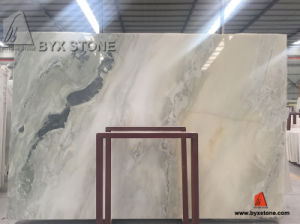 Green Kangba Jade Marble Slab for Tile and Countertop pictures & photos