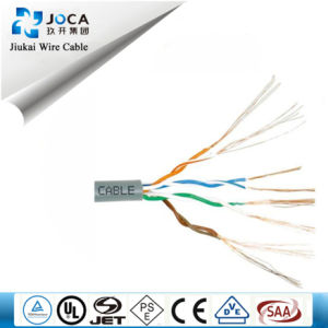 LAN Cable Cat5e/Network Cable 4p UTP Cat5e Outdoor/Indoor pictures & photos