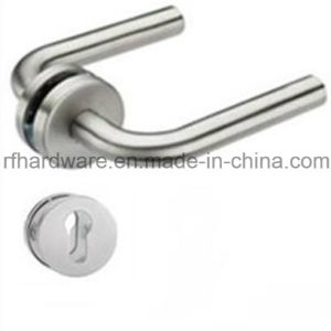 Hollow Stainless Tube Level Door Handle (RL002) pictures & photos