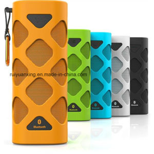 Portable Bluetooth Speaker with Built-in Microphone (orange) pictures & photos