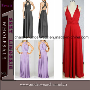 Fashion Women Maxi Bridesmaid Prom Dress (TP4380) pictures & photos