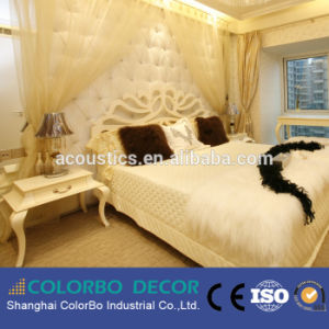Fire-Resistance Interior Wall Fabric Acoustic Panel for Living Oom pictures & photos
