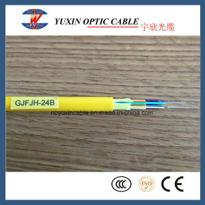 24 Fibers Single Mode LSZH or PVC Indoor Distribution Fiber Optic Cable From China Factory