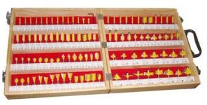 100PCS Wood Router Bit Set (GME00100) pictures & photos