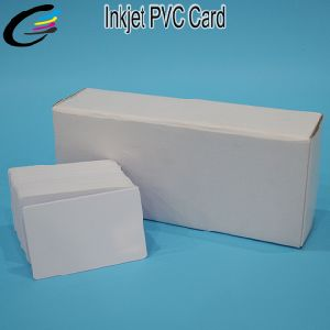 Wholesale 0.76mm High Quality Direct Inkjet Print PVC Cards Manufacturer pictures & photos