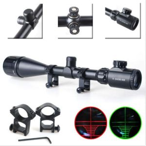 Cvlife 6-24X50 Aoe Rifle Scope Red & Green Mil-DOT Illuminated Optics Hunting pictures & photos