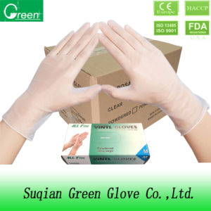 Clear Cheap Disposable Surgical Gloves pictures & photos