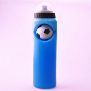 750ml HDPE Sport Water Bottle with Football Fashion Design