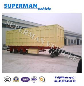 40FT 3axle Side Wall Cargo Transport Semi Truck Trailer/ Pulling Trailer pictures & photos