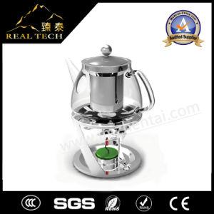 Hot Sale Borosilicate Glass Teapot with Warmer