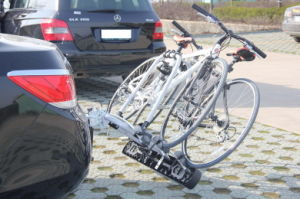 China Manufacture Tilting Tow Bar Cycle Bike Carrier 2 3 4 Bikes (TB009D3)