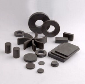 Sintered Square or Ring Round Disc Ferrite Magnets Y35 pictures & photos