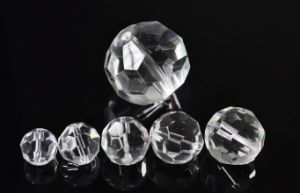 32 Faceted Round Glass Beads pictures & photos