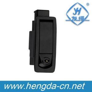 Zinc Alloy Electrical Metal Cabinet Sliding Door Handle Plane Lock (YH9597) pictures & photos