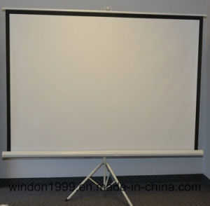 Portable Projector Screen Tripod Stand for Sale Cheap Price pictures & photos