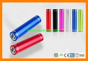 Aluminum-Round Portable Power Bank Mobile Phone Charger pictures & photos