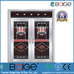 Stainless Steel Double Door (BG-SS9039)