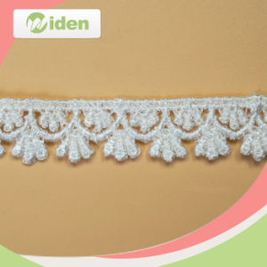 Soft White Polyester African Chemical Lace pictures & photos