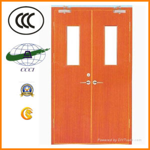 2016 New Design Wooden Fireproof Door Used on Room Entrance