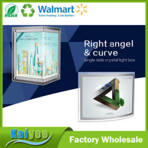 Single Side Right Angle and Curve Crystal Lamp Box pictures & photos