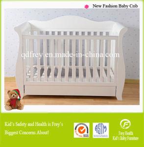 European Design Pine Wood Baby Crib/Bed/Cot
