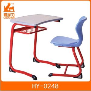 Kids Wooden Study Table with Plastic Chair of School Furniture pictures & photos