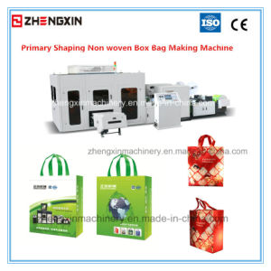 High Speed Non Woven Handle Bag Making Machine Zx-Lt400 pictures & photos