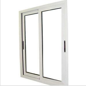 Double Plastic PVC / UPVC Sliding Glass Window pictures & photos