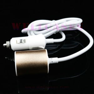 Wholesale 2.1A Back Seat Dual USB Car Charger for Cellphone pictures & photos
