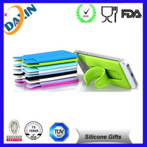 2015 Hottest Silicone Mobile Phone Stand with Card Holder pictures & photos