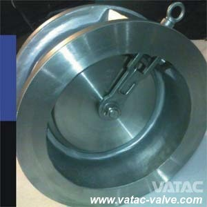 Stainless Steel Single Disc Swing Wafer Check Valve pictures & photos