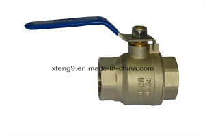 Dn40pn40 Female Brass Ball Valve pictures & photos