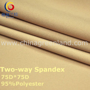 75D Polyester Spandex Woven Fabric for Textile Fashion (GLLML2) pictures & photos