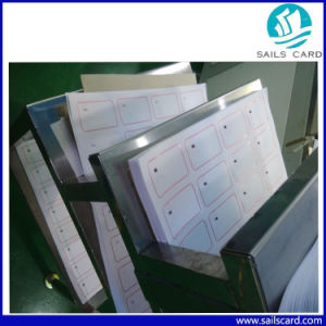 Mf 1k RFID Card Making Inlay Sheet with Different Layouts pictures & photos