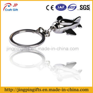 2016 Promotion Fashion Airplane Shape Metal Key Chain pictures & photos